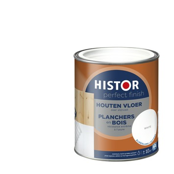Histor Perfect Finish houten vloer 7000 wit zijdeglans 750 ml