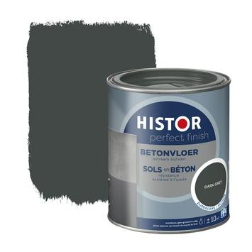 Histor Perfect Finish betonvloer RAL 7043 dark grey zijdeglans 750 ml