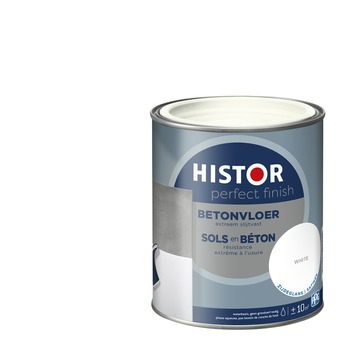 Histor Perfect Finish betonvloer 7000 wit zijdeglans 750 ml