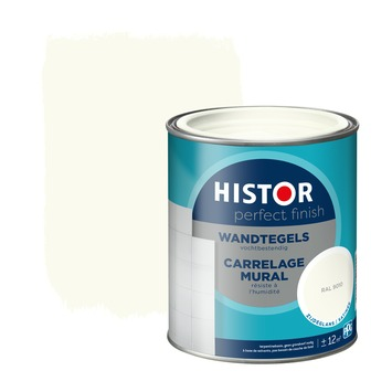 Histor Perfect Finish wandtegels RAL 9010 zijdeglans 750 ml