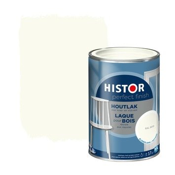 Histor Perfect Finish houtlak RAL 9010 zijdeglans 1,25 liter