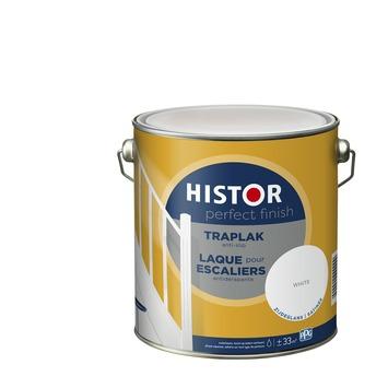 Histor Perfect Finish traplak anti-slip 7000 wit zijdeglans 2,5 liter