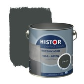 Histor Perfect Finish betonvloer RAL 7043 dark grey zijdeglans 2,5 liter