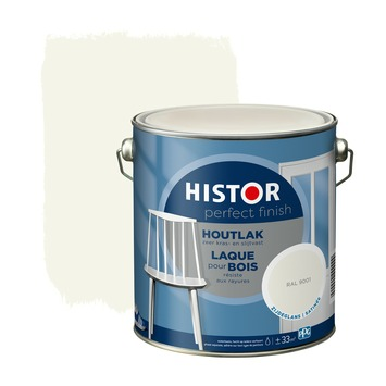 Histor Perfect Finish houtlak RAL 9001 zijdeglans 2,5 liter
