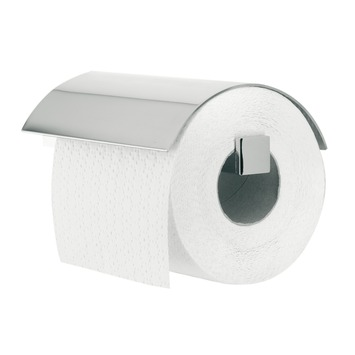 Tiger Toiletrolhouder Items met Klep Chroom