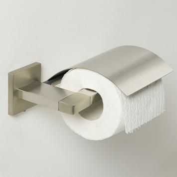 Tiger Toiletrolhouder Items met Klep RVS