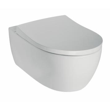 Sphinx Wandcloset 345 Zonder Spoelrand met Softclose WC bril