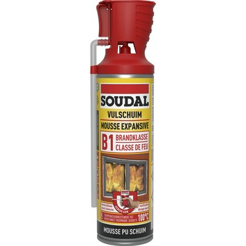 Soudal brandvertragende PU-schuim 500ml