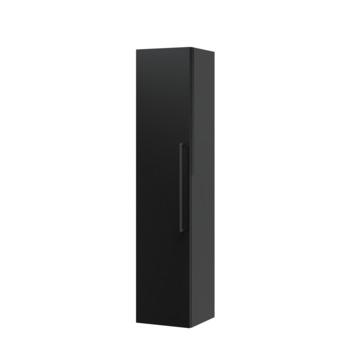 Bruynzeel Elements kolomkast zwart met vierkante greep