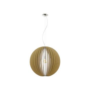 EGLO hanglamp Cossano Ø700mmbruin