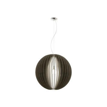EGLO hanglamp Cassano Ø700mm donker bruin