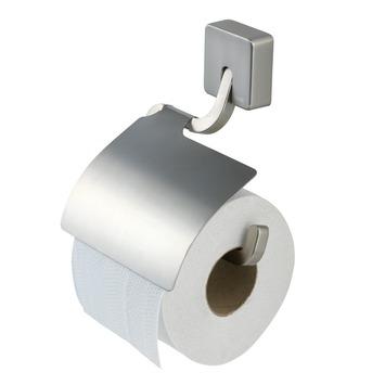 Tiger Toiletrolhouder Impuls met Klep RVS