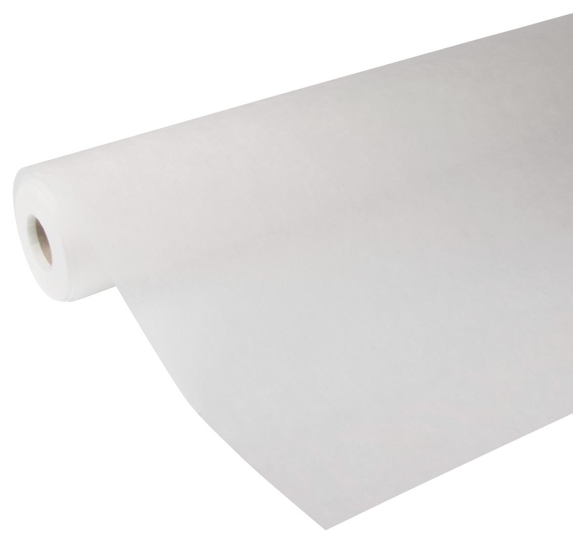 Glasweefselbehang ruit kant en klaar wit 25 meter (dessin GWK404-25)
