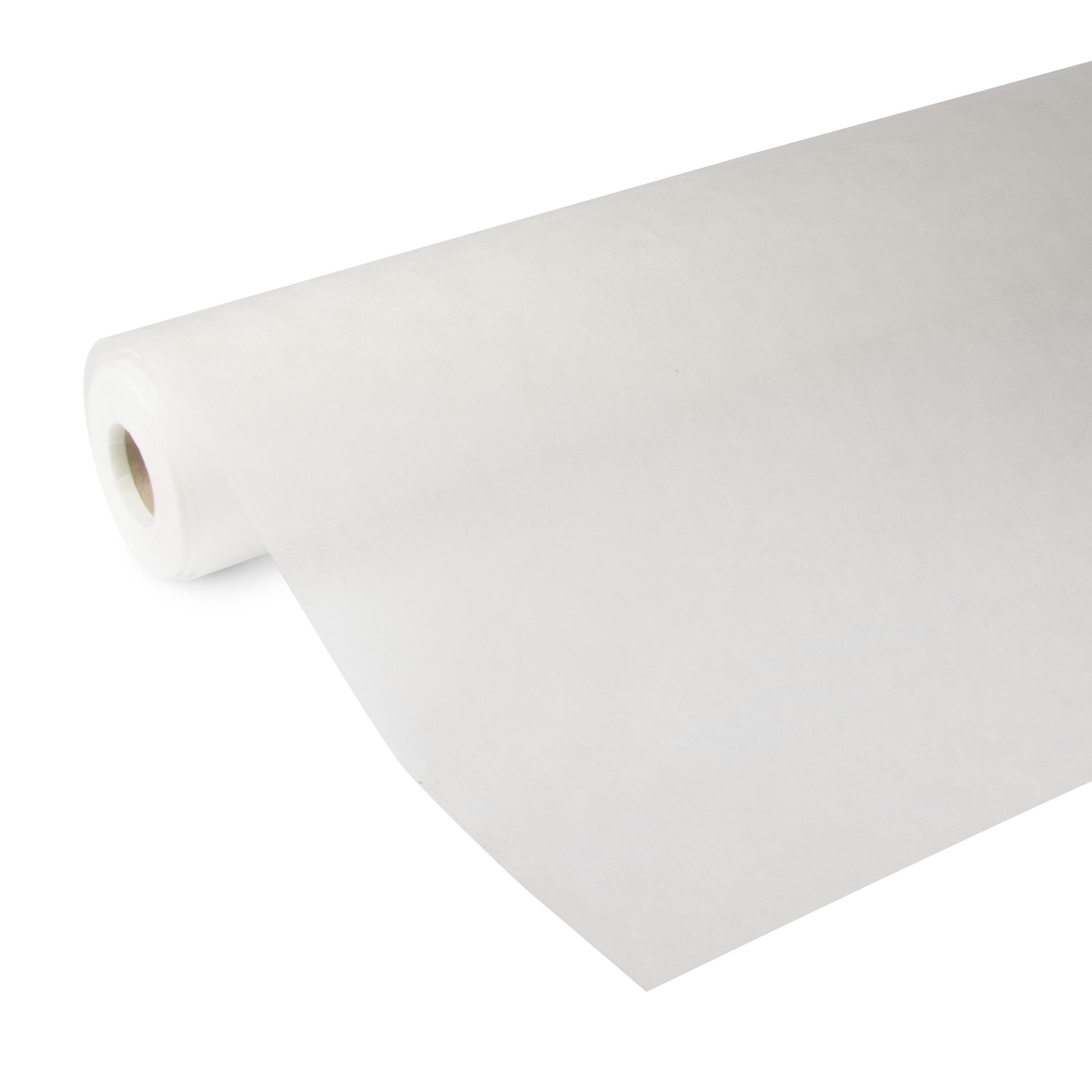 Glasweefselbehang ruit voorgeschilderd wit 50 meter (dessin GW403-50)