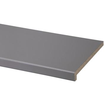 CanDo vensterbank spaanplaat warm grijs 302x29 cm