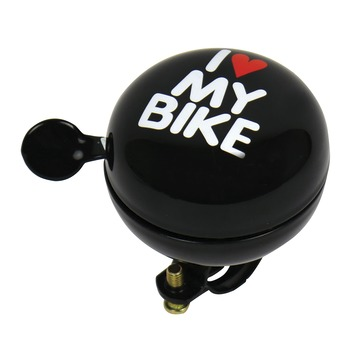 Fietsbel Dingdong I Love My Bike 80