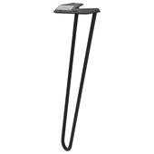 Duraline meubelpoot Hairpin Zwart 40cm