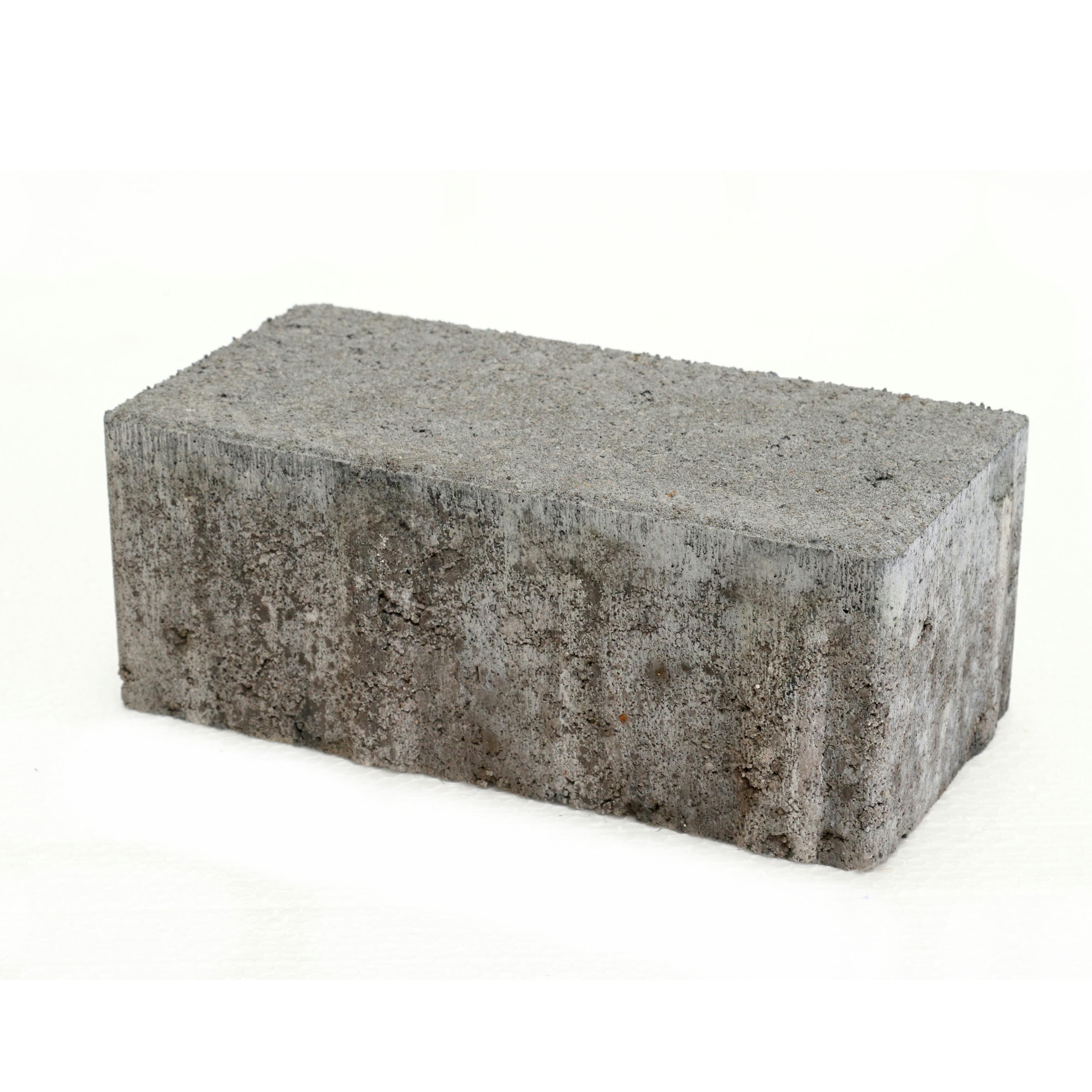 Klinker Beton Grijs 21x10,5x8 cm - Per Stuk - 0,02 m2