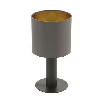 Eglo Concessa 1 Tafellamp Donkerbruin
