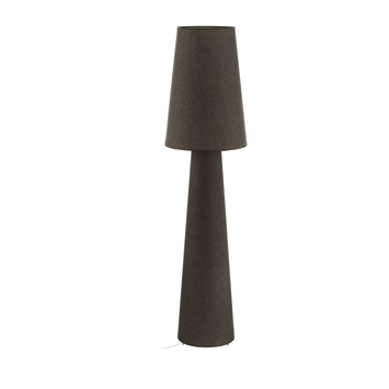 Eglo Carpara Vloerlamp Bruin 143cm