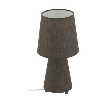 Eglo Carpara Tafellamp Taupe 34cm