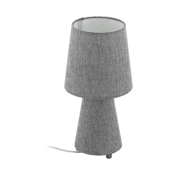 Eglo Carpara Tafellamp Grijs 34cm