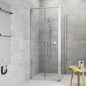 Get Wet Douchewand voor Pendeldeur Code R 90x197 cm