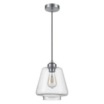 Hanglamp Bart glas/metaal