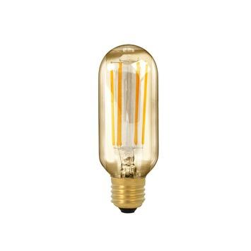 Calex LED volglas filament buismodel lamp 4W 320lm E27 goud dimbaar