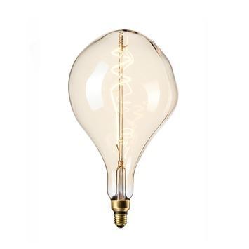 Calex XXL Organic LED lamp 240V 6W 300lm E27 PS165, goud 2200K dimbaar