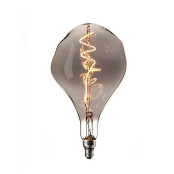 Calex XXL Organic LED lamp 240V 6W 90lm E27 PS165, titanium 2200K dimbaar