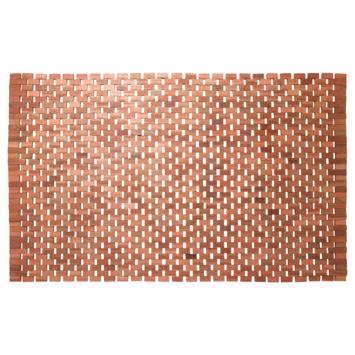 Sealskin Badmat Woodblock Teak 90x52 cm