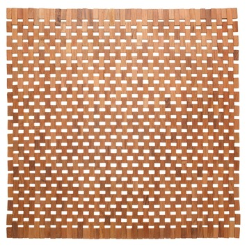 Wc Mat Sealskin.Sealskin Wc Mat Woodblock Teak 60x60 Cm