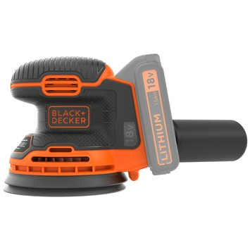 Black+Decker excentrische schuurmachine BDCROS18-QW 18 volt