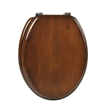 Plieger WC bril Classic Noten Hout