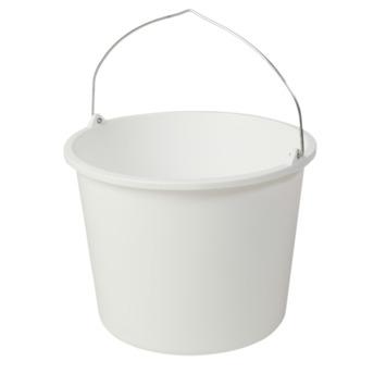Bouwemmer wit 12 liter