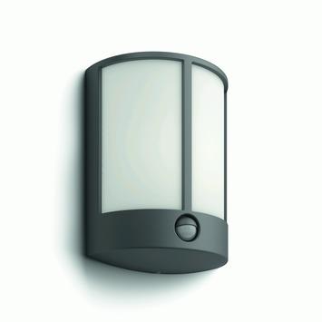 Philips myGarden Stock wandlamp antraciet met bewegingssensor