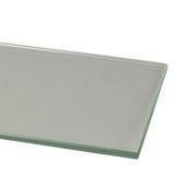 Plieger planchet in gehard helder glas 60x12 cm
