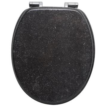 Handson WC bril Antero Graniet Hout met Softclose