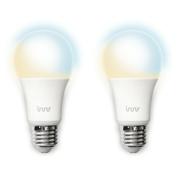 Innr LED lamp E27 2-pack instelbaar wit