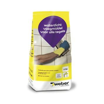 Weber Wand & Vloer voegmiddel grijs 2 kg