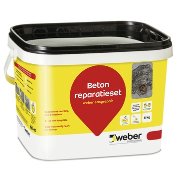 Weber repair betonmortel 5 kg