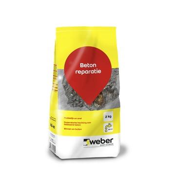 Weber reparatie betonmortel 2 kg