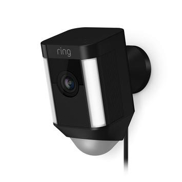 Ring Spotlight Cam Bedraad - Zwart
