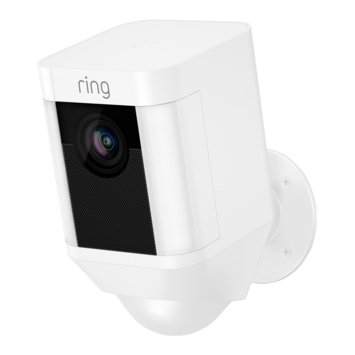 Ring Spotlight Cam Batterij - Wit