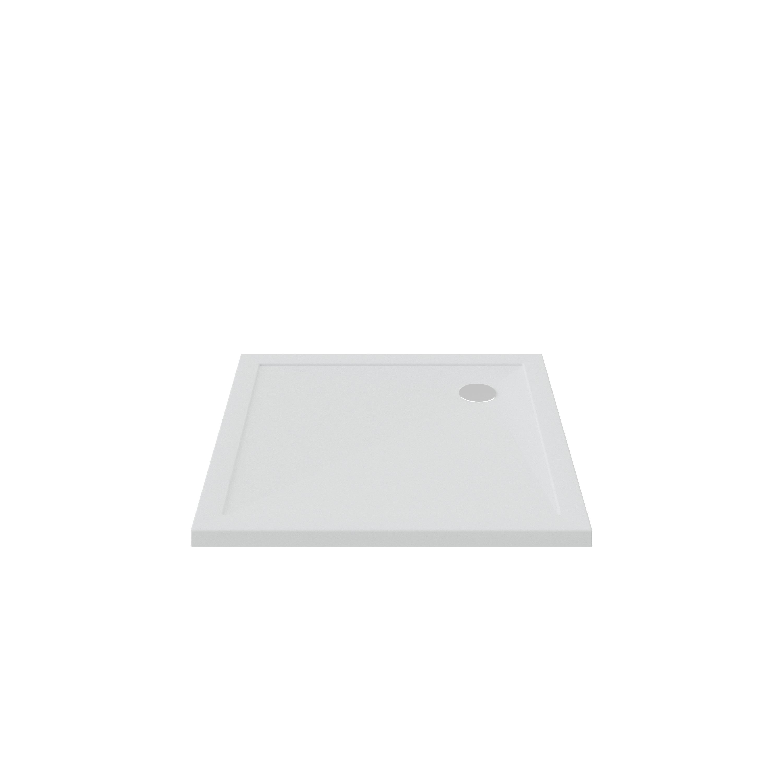 Bruynzeel douchebak 100x100x4 cm, wit