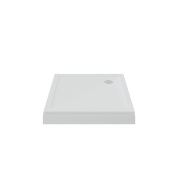 Bruynzeel douchebak opbouw wit 100x100x15 cm