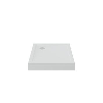 Bruynzeel douchebak opbouw wit 90x90x15 cm