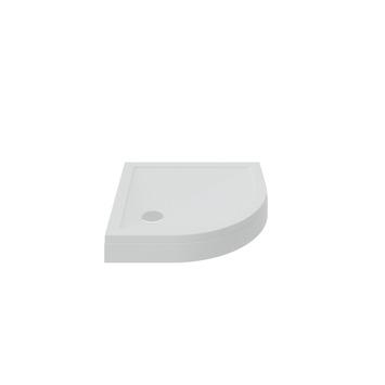 Bruynzeel douchebak opbouw kwartrond wit 90x90 cm