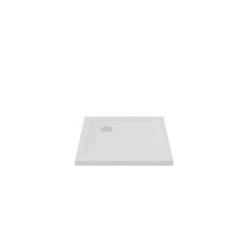 Bruynzeel douchebak inbouw wit 80x80x5 cm